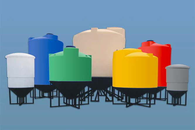 Conical Bottom Storage Tanks