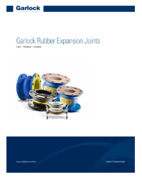 Garlock Rubber Expansion Joints Brochure