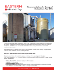Storage Recommendations of Hydrochloric Acid