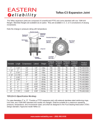 Teflex C3 Expansion Joint